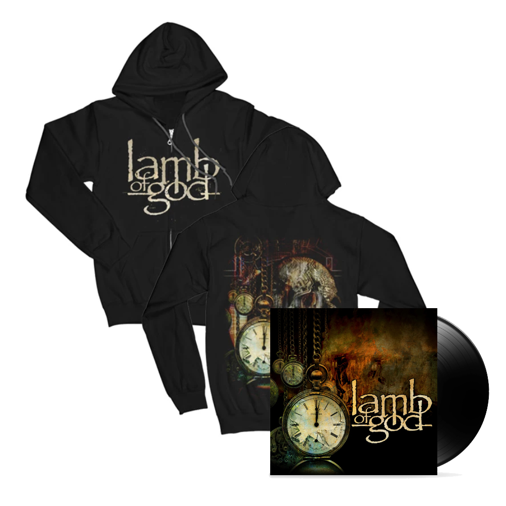 Lamb Of God - Album Hoodie and Vinyl