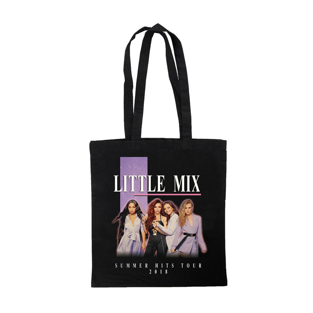 Little Mix - Summer Hits Tote Bag (Black)