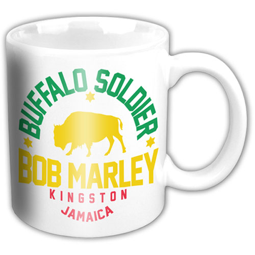 Bob Marley - Buffalo Soldier (White)