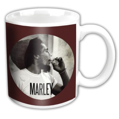 Bob Marley - Circle (White)