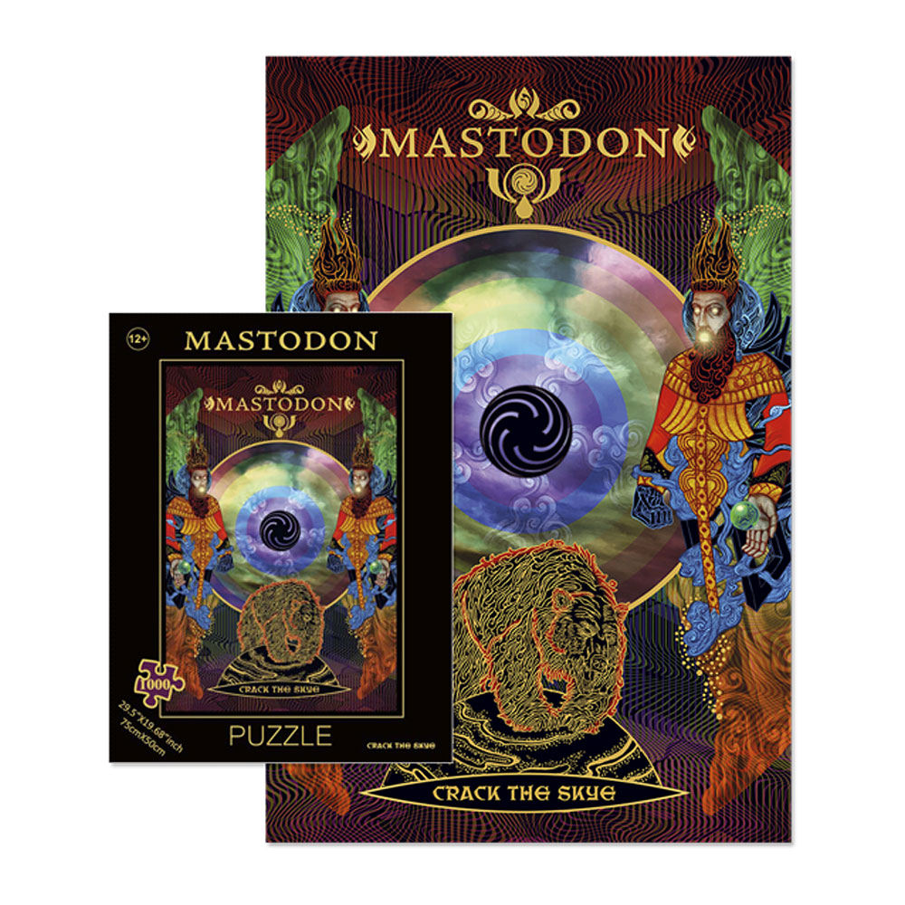 Mastodon - Crack The Skye Puzzle