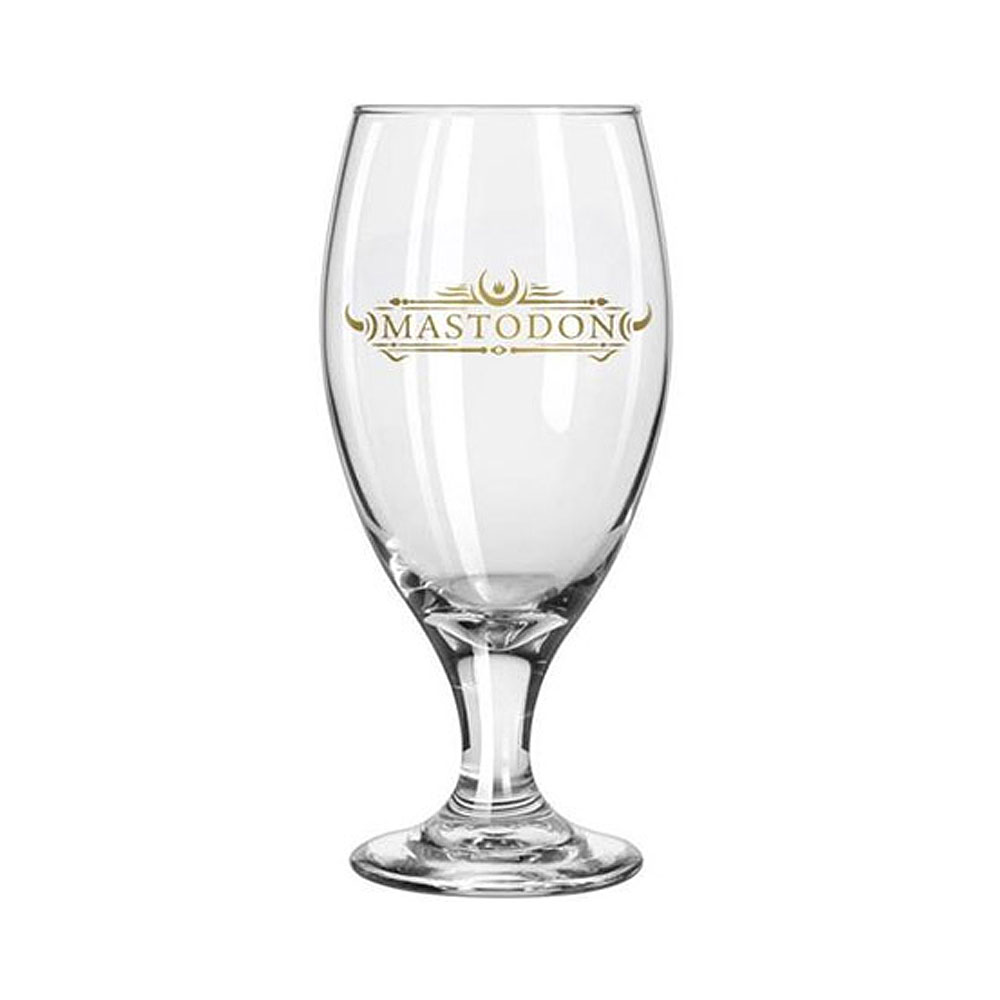 Mastodon - Emperor of Sand Tear Drop Beer Glass