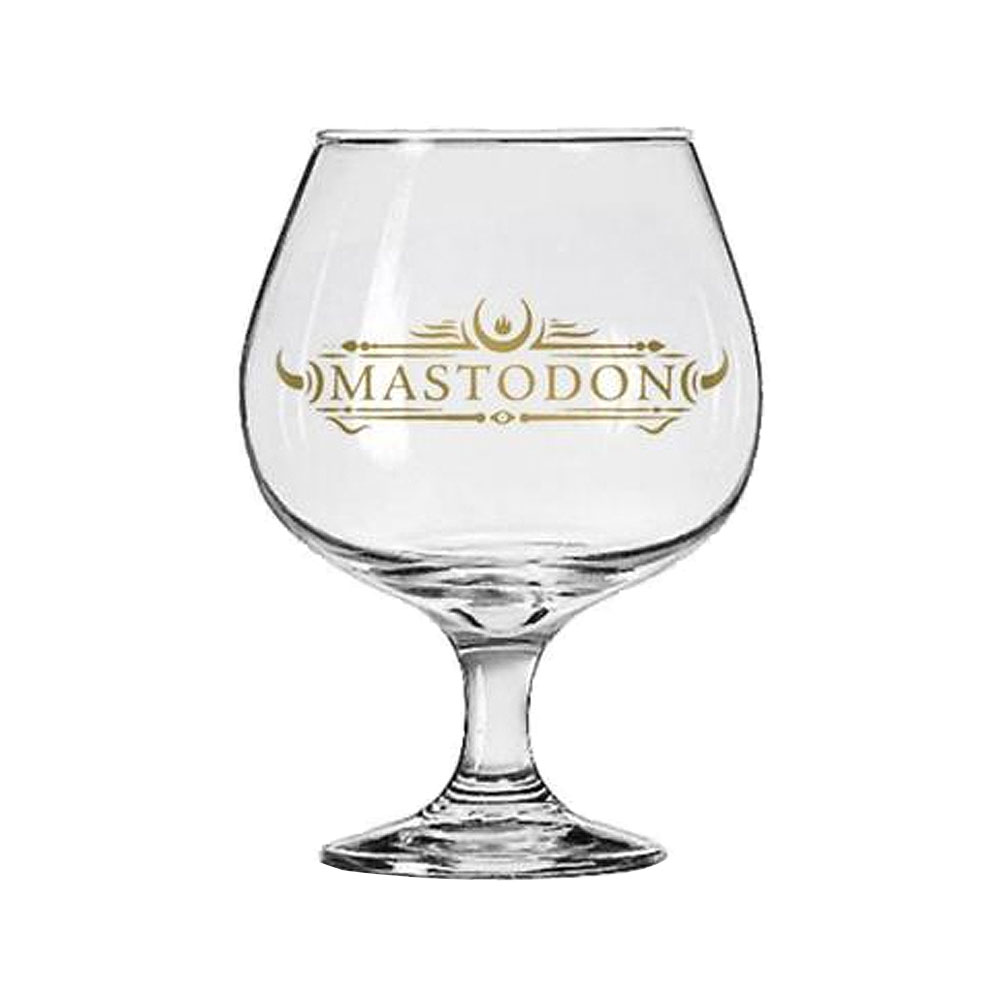 Mastodon - Emperor of Sand Brandy Glass