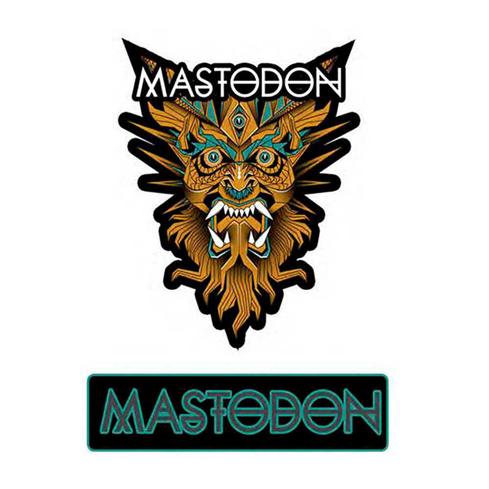 Mastodon - Geodemon Patch Set