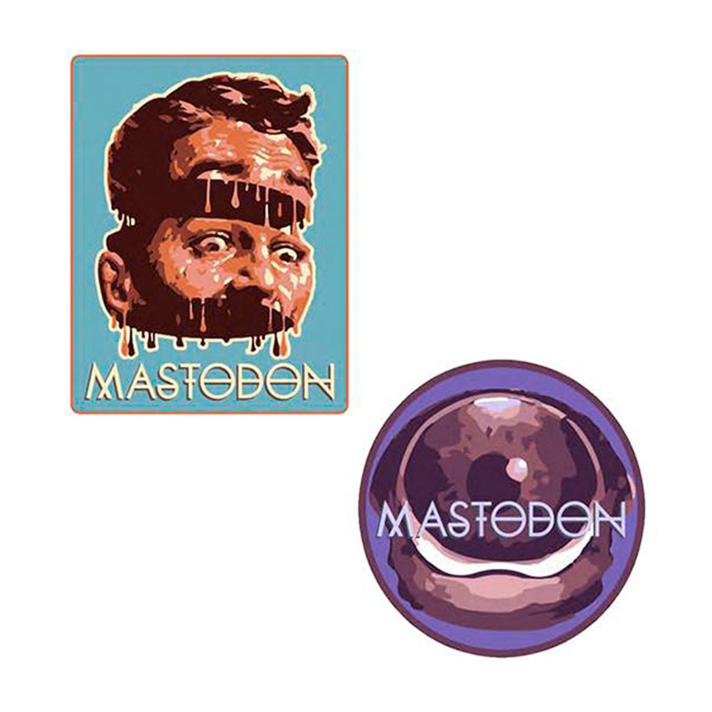 Mastodon - Surrealism Patch Set