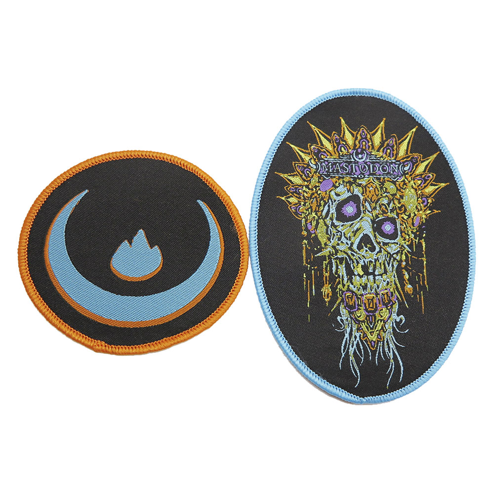 Mastodon - Skinner Skull Patch Set