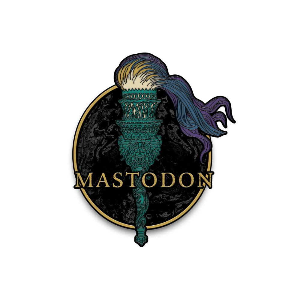 Mastodon - Medium Rarities Enamel Pin badge