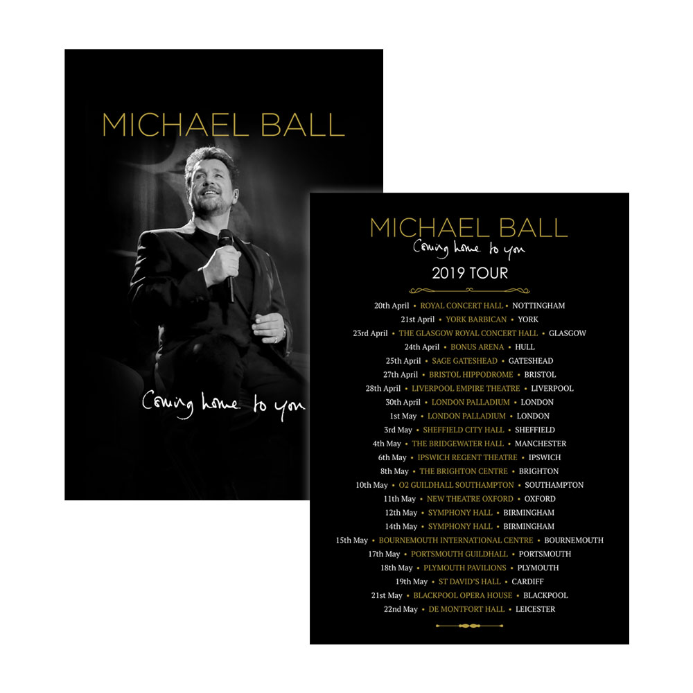 Michael Ball - Coming Home To You 2019
