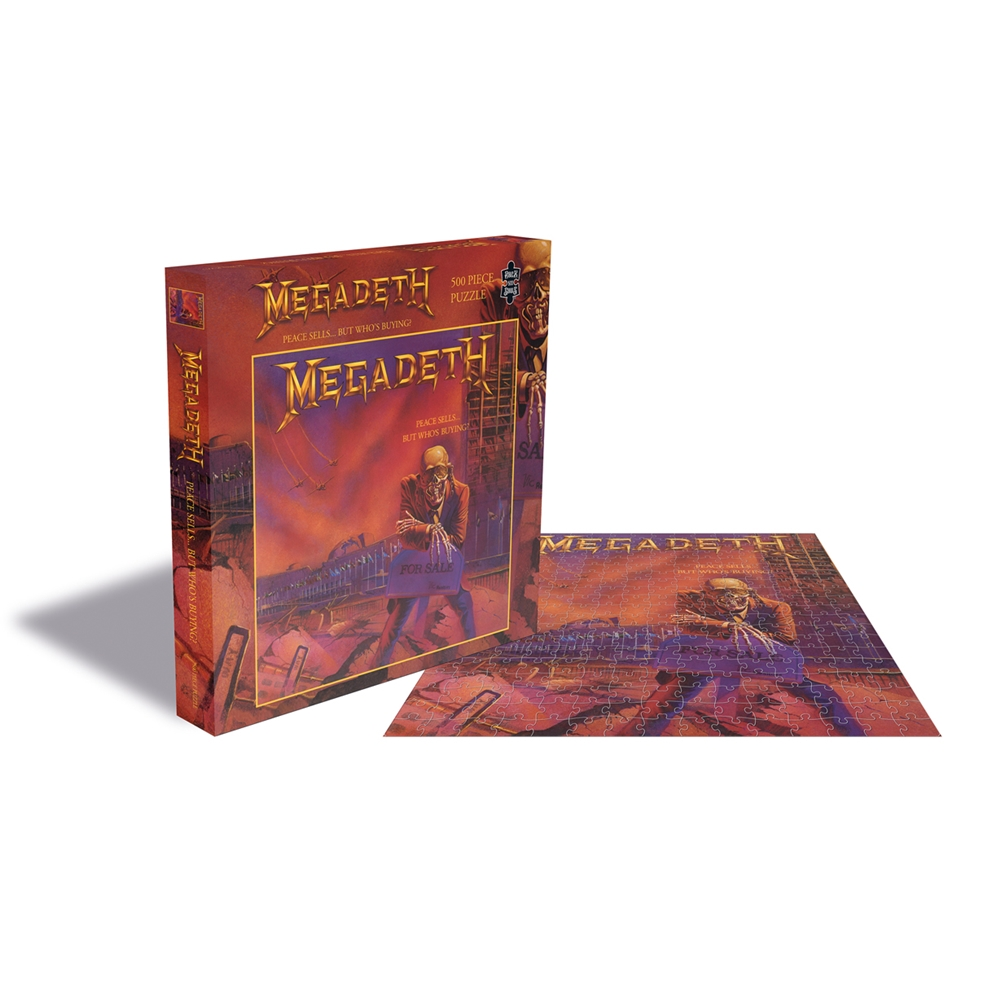 Megadeth - Peace Sells... But Who's Buying? (500 Piece Puzzle)
