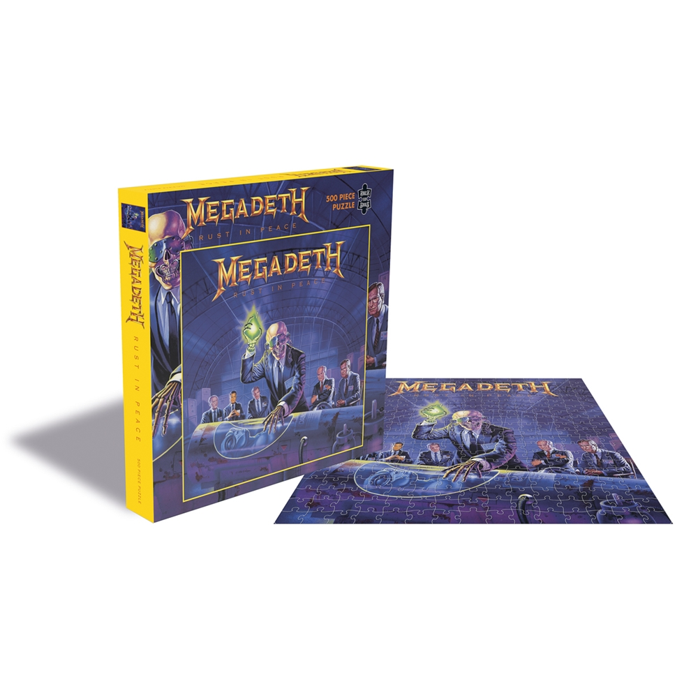 Megadeth - Rust In Peace (500 Piece Puzzle)