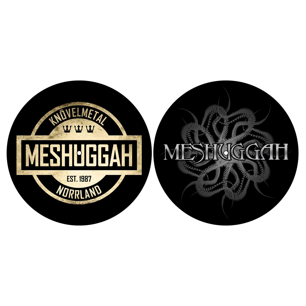 Meshuggah - Crest / Spine Slipmat Set