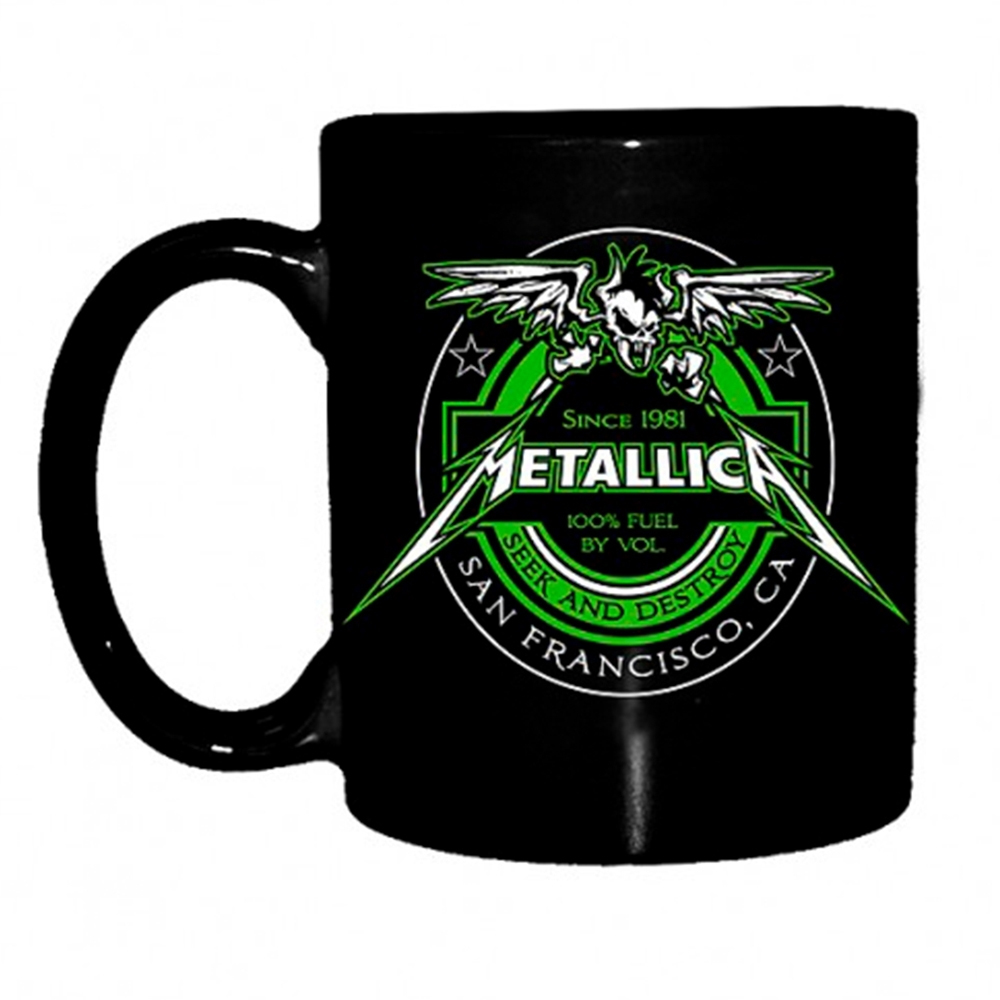 Metallica - Fuel (Black Mug)