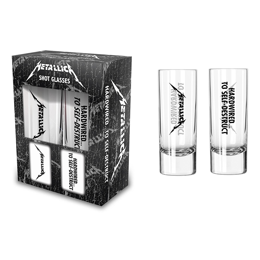 Metallica - Hardwired (Shot Glasses)