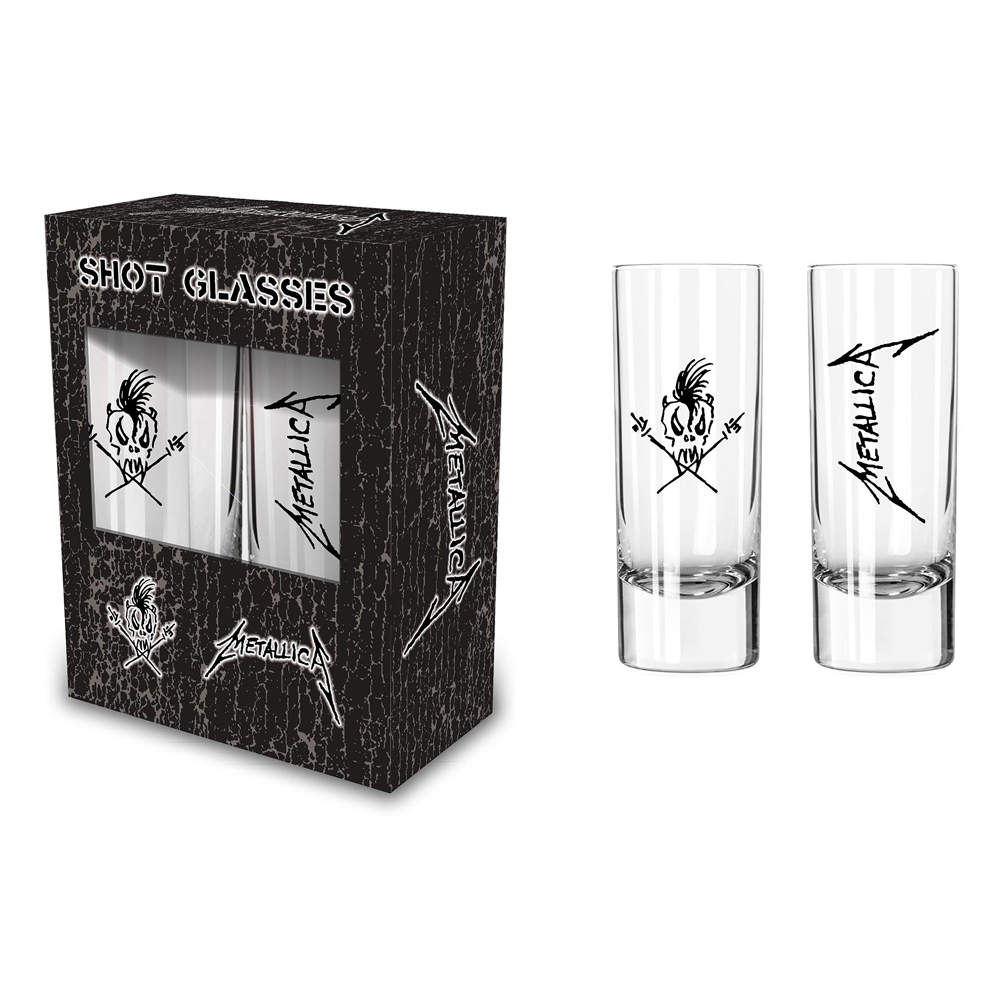 Metallica - Scary Guy (Shot Glasses)