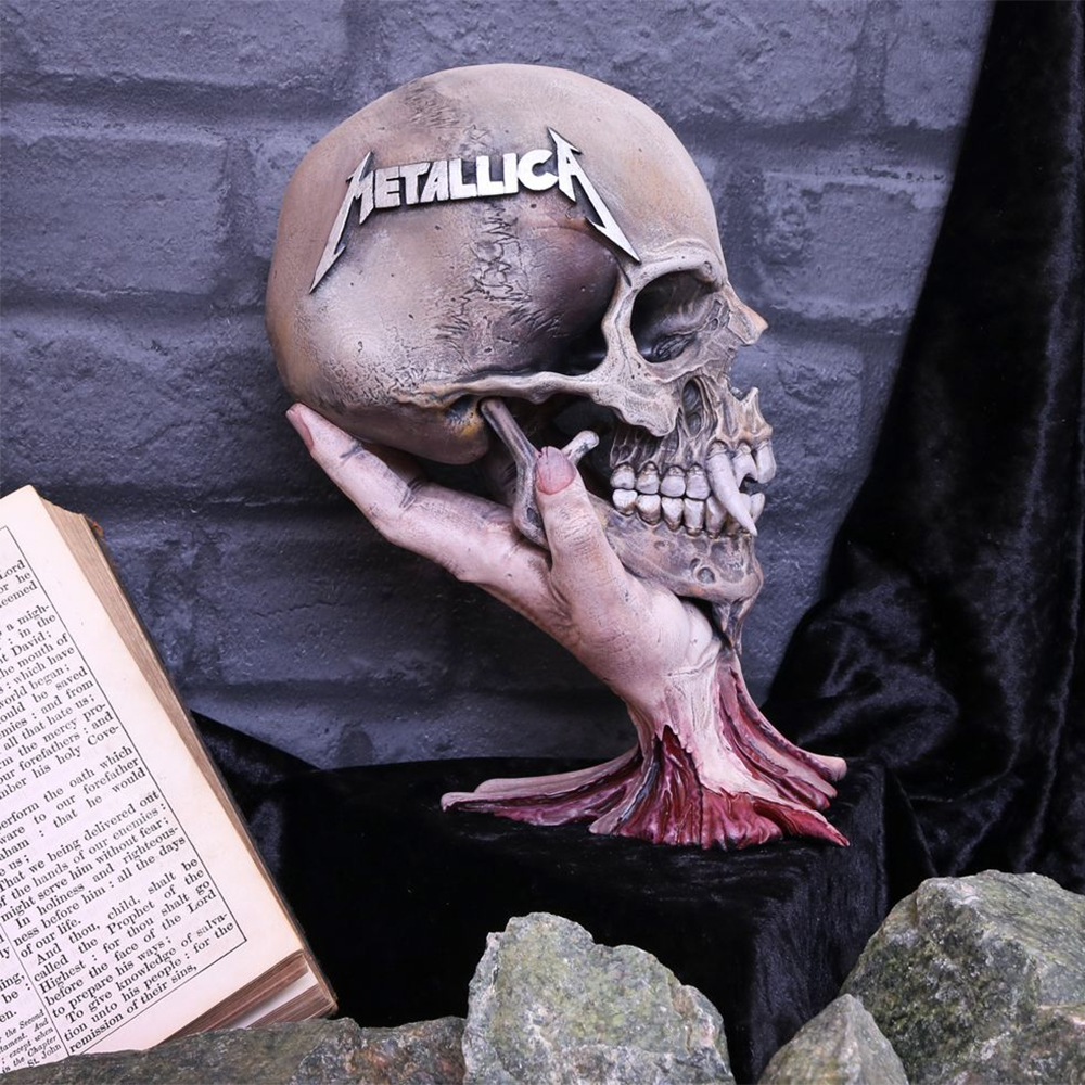 Metallica - Sad But True Fanged Skull Statue