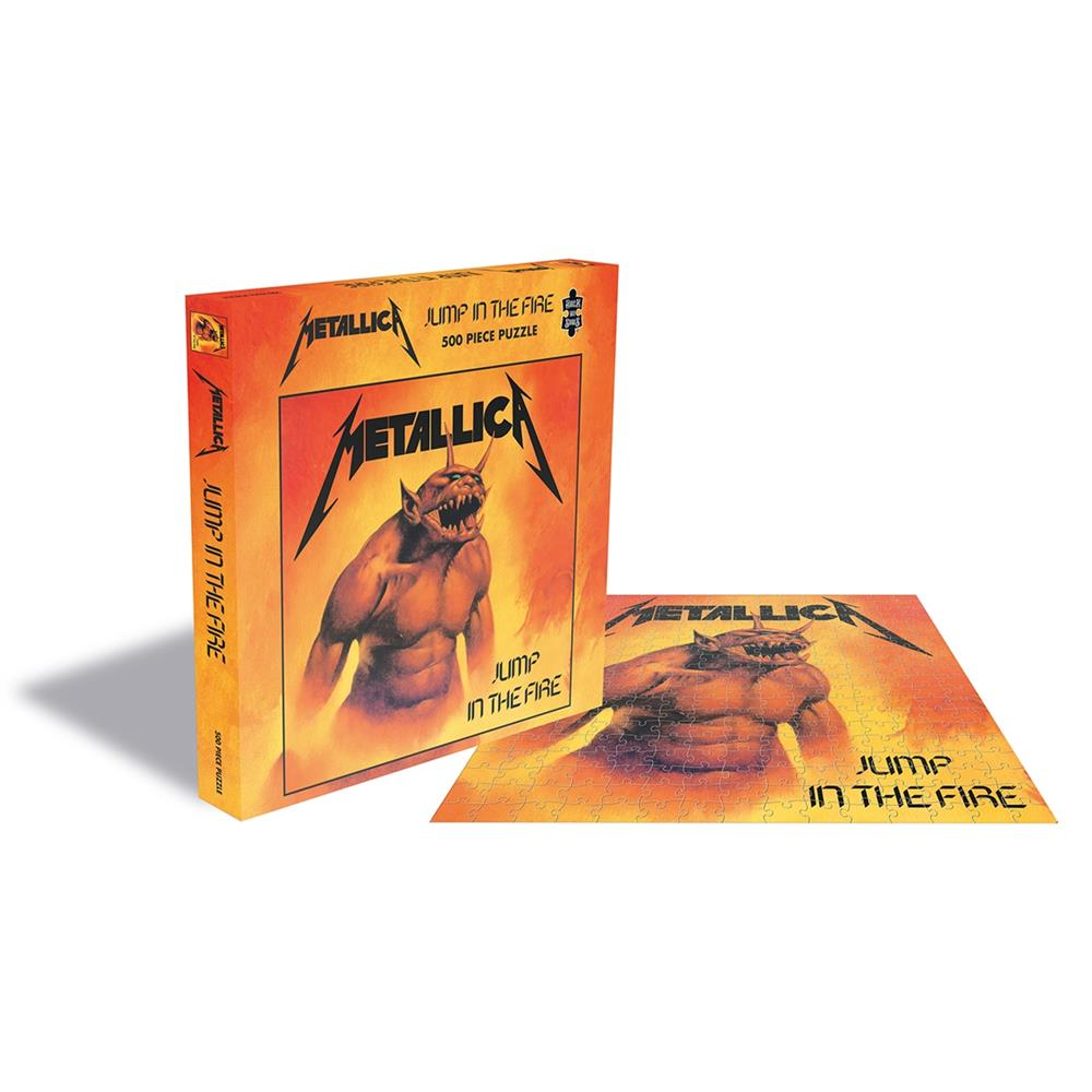 Metallica - JUMP IN THE FIRE (500 PIECE JIGSAW PUZZLE)