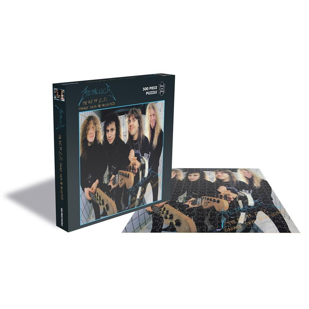 Metallica - THE $5.98 E.P. - GARAGE DAYS RE-REVISITED (500 PIECE JIGSAW PUZZLE)
