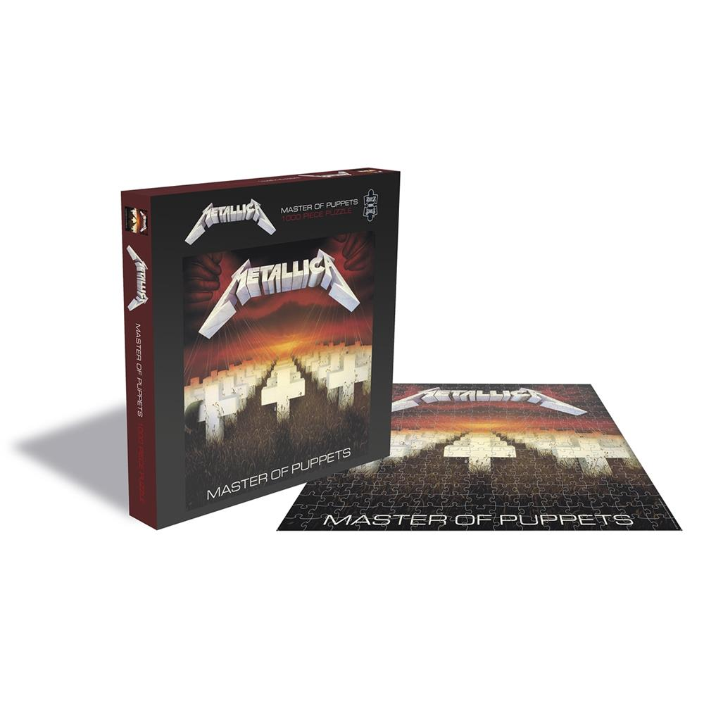 Metallica - Master Of Puppets (1000 Piece Puzzle)