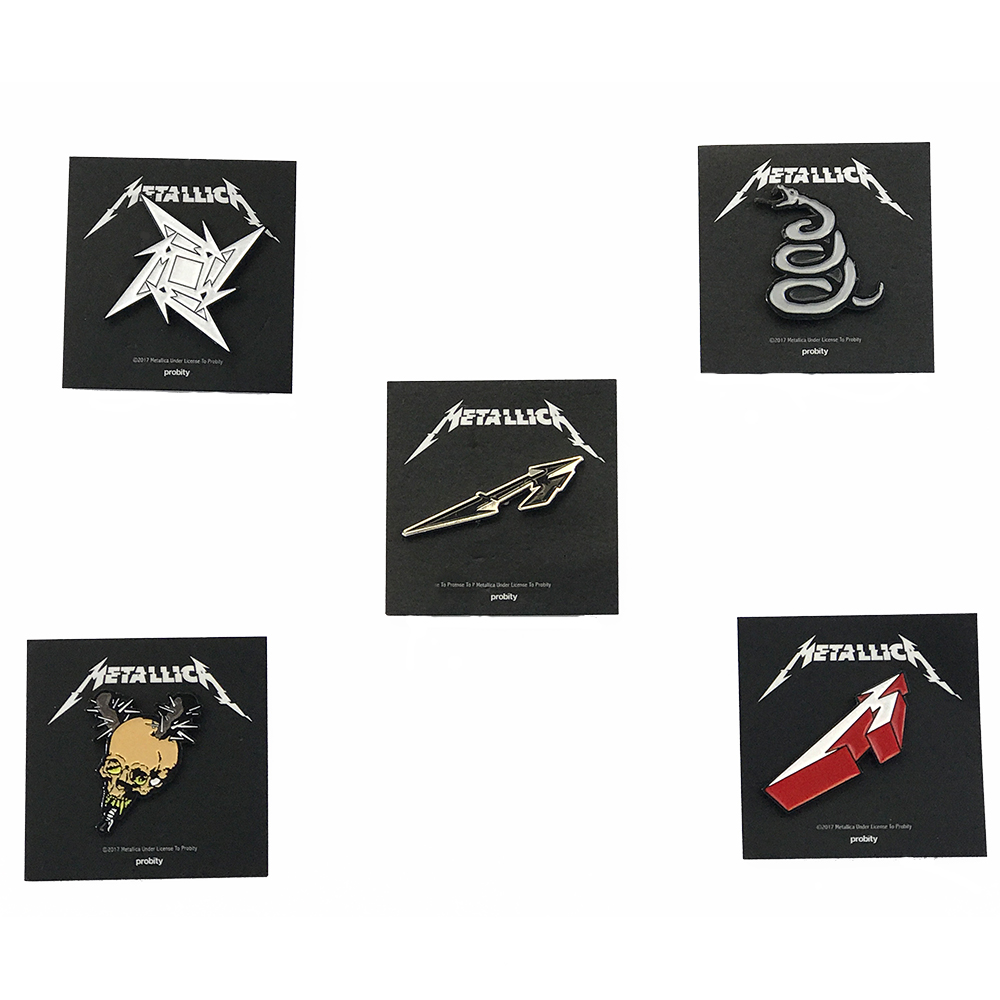 Metallica - Metallica Badge Set