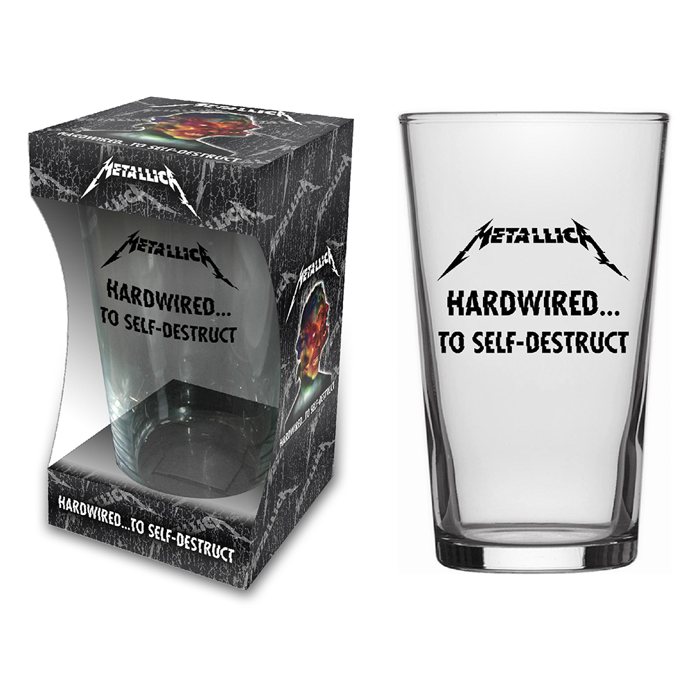 Metallica - Hardwired (Beer Glass)