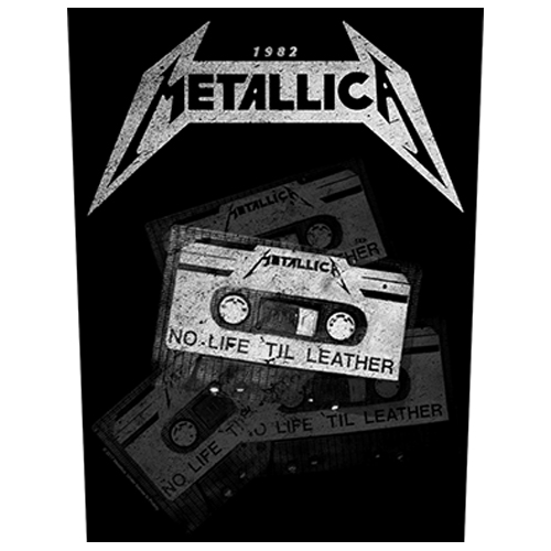 Metallica - No Life 'Til Leather (Back Patch)