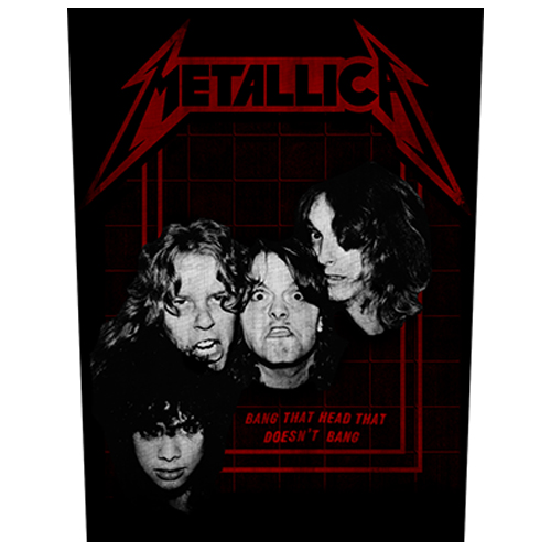 Metallica - Bang That Head (Back Patch)