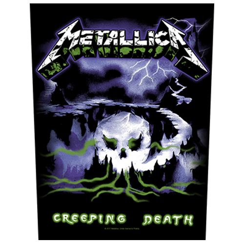 Metallica - Creeping Death (Back Patch)