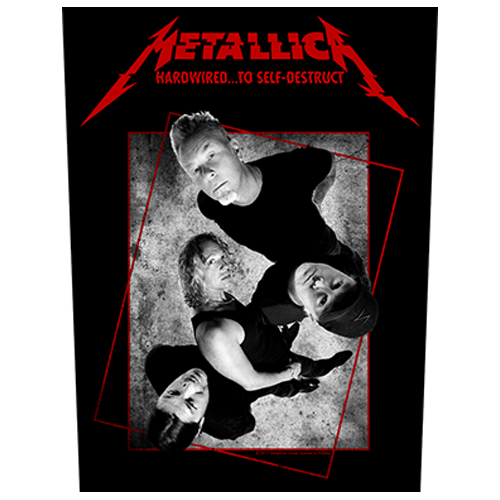Metallica - Hardwired Concrete (Back Patch)