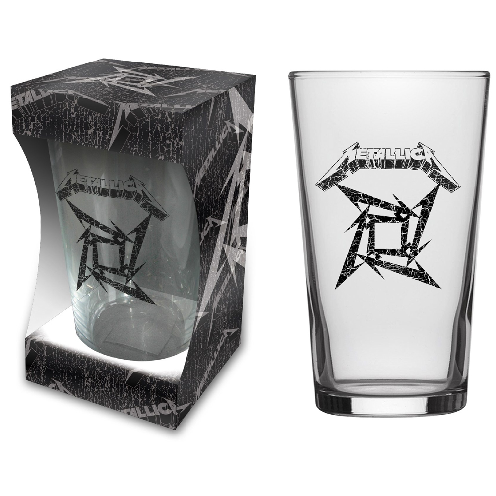 Metallica - Black Album (Beer Glass)