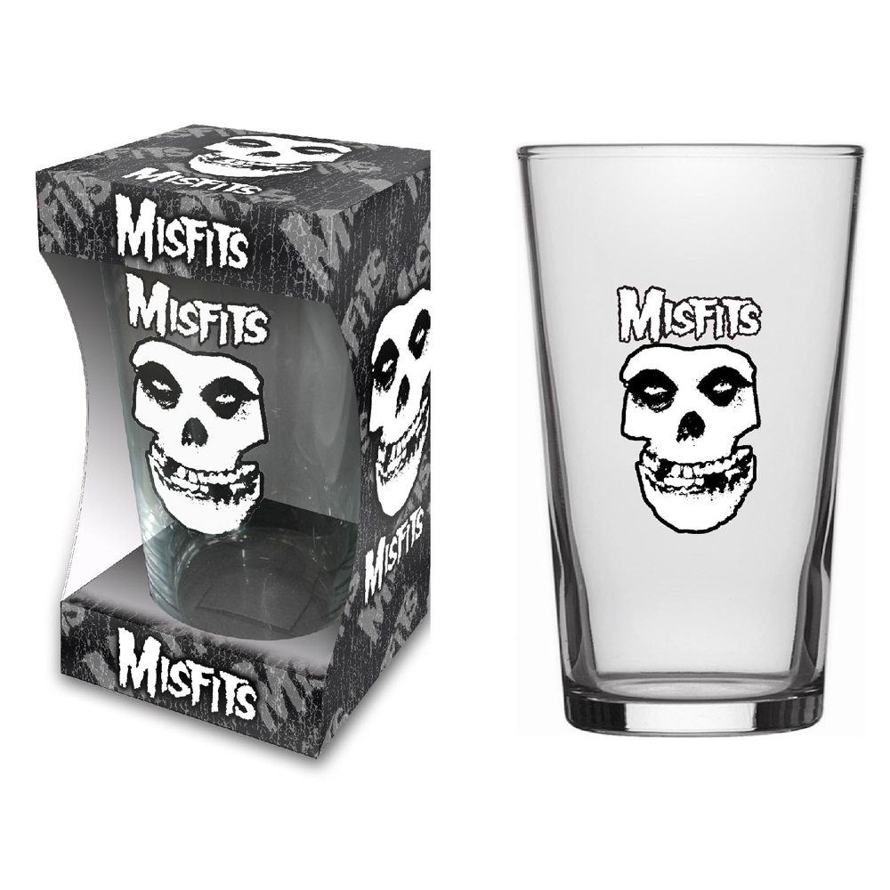 Misfits - Skull (Beer Glass)