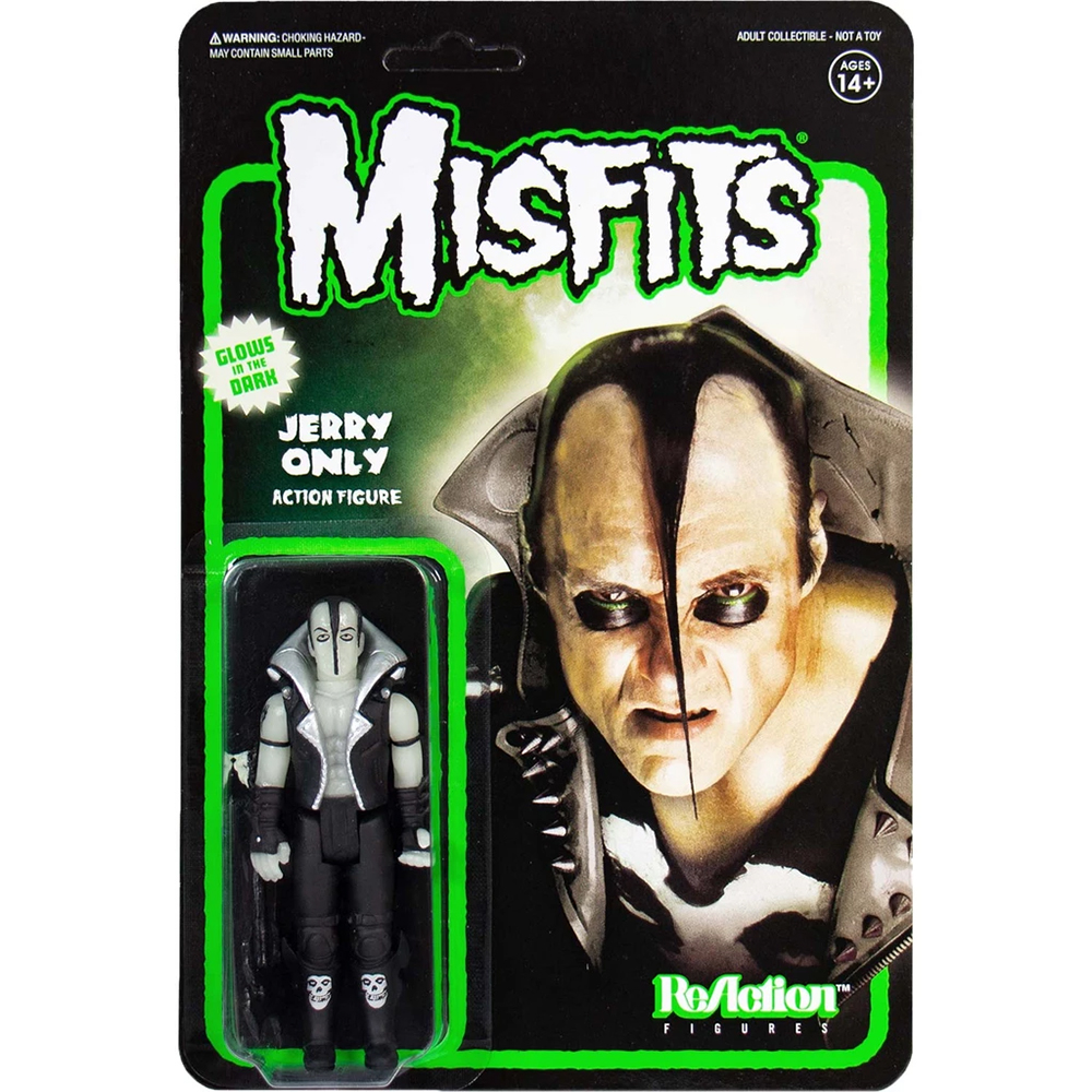 Misfits - Jerry Only (Glow In The Dark ReAction Figure)