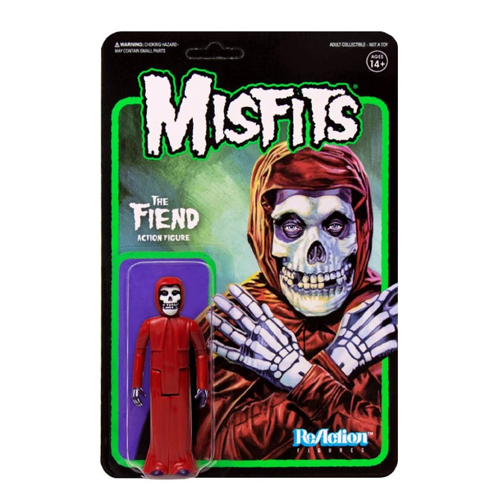 Misfits -  The Fiend (Crimson Red ReAction Figure)