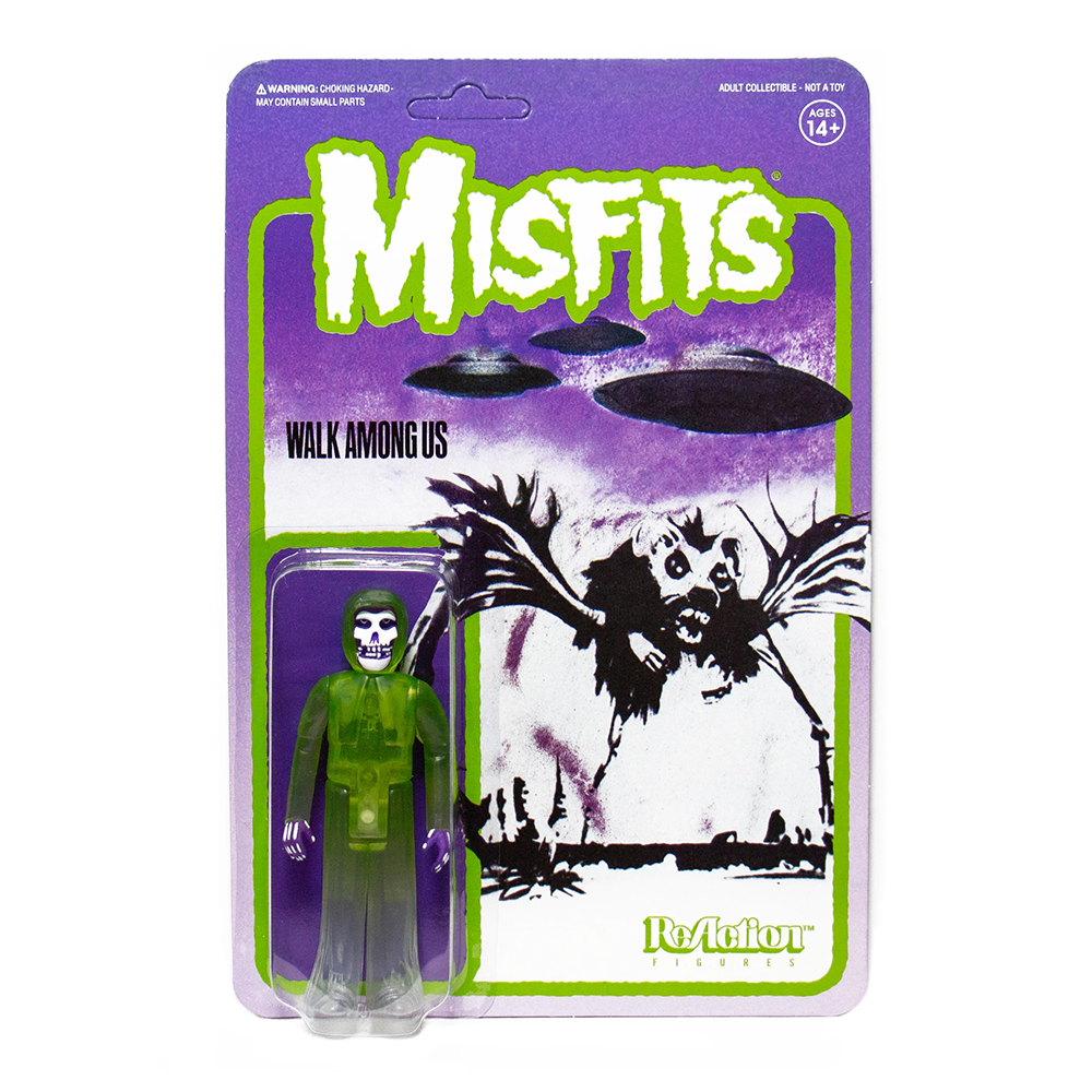 Misfits - Fiend Walk Among Us (Green ReAction Figure)
