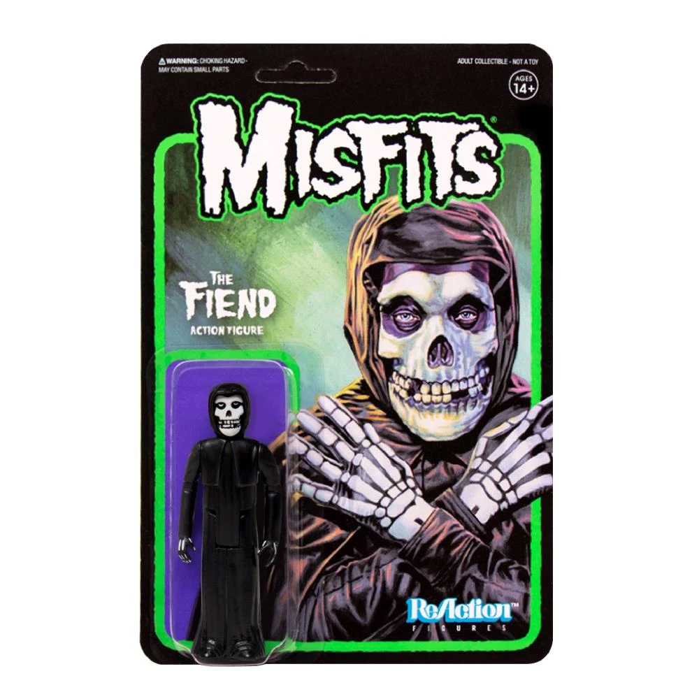 Misfits - The Fiend (Midnight Black ReAction Figure)