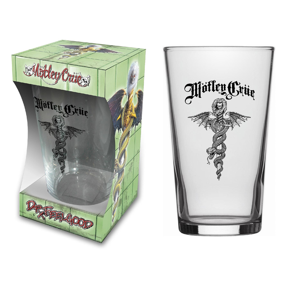 Motley Crue - Dr Feelgood (Beer Glass)