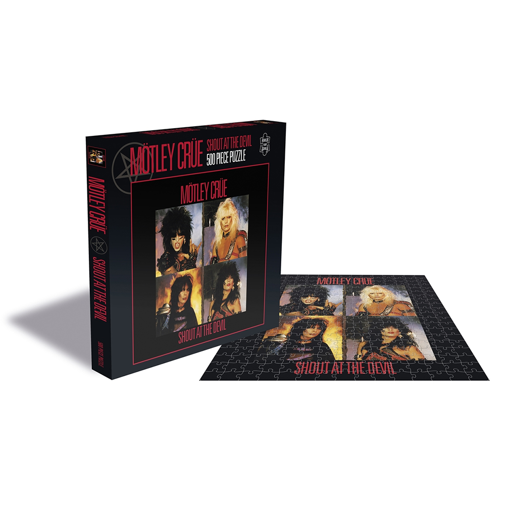 Motley Crue - Shout At The Devil  (500 Piece Jigsaw Puzzle)