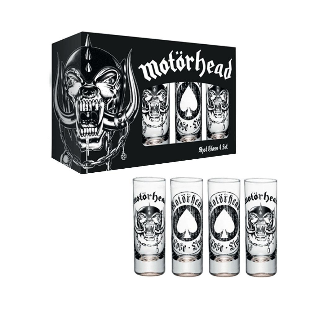 Motorhead - Shot Glasses Box Set