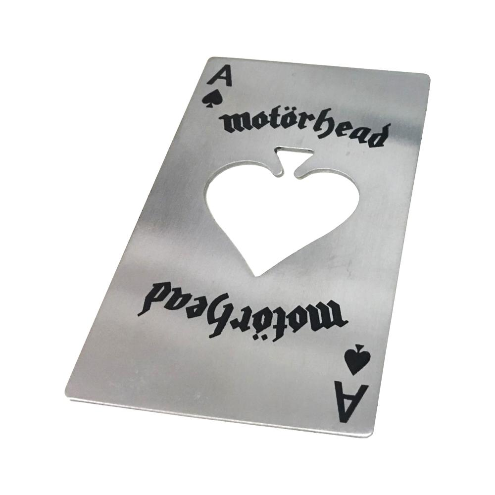 Motorhead - Ace Of Spades Card Bottle Opener