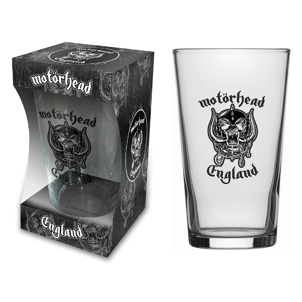 Motorhead - England (Beer Glass)
