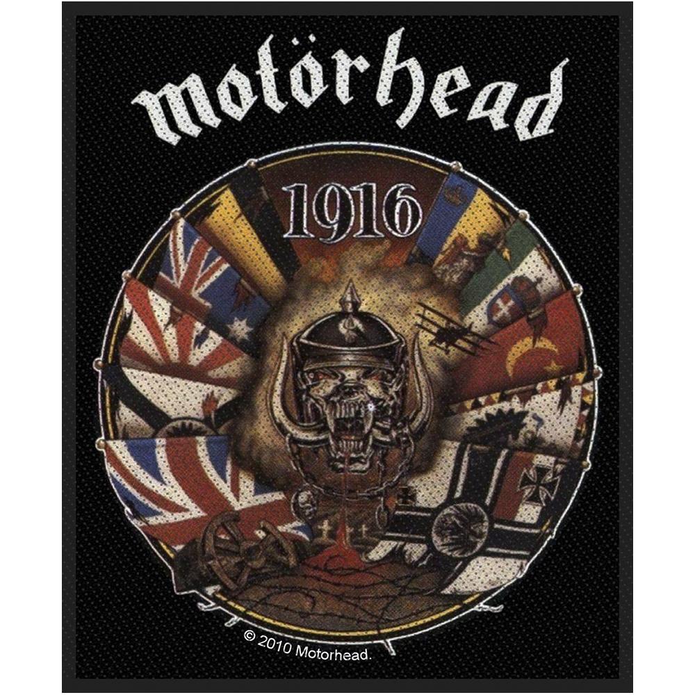 Motorhead 1916 Woven Patch