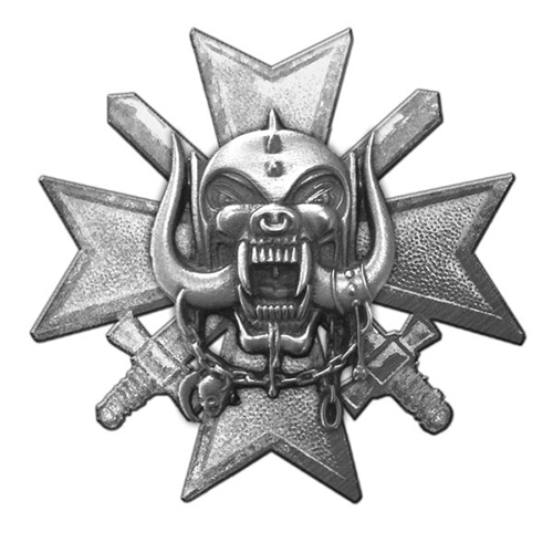 Motorhead - Bad Magic Pin Badge