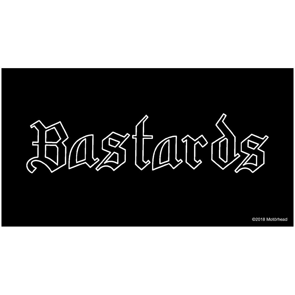 Motorhead - Bastards Fabric Patch