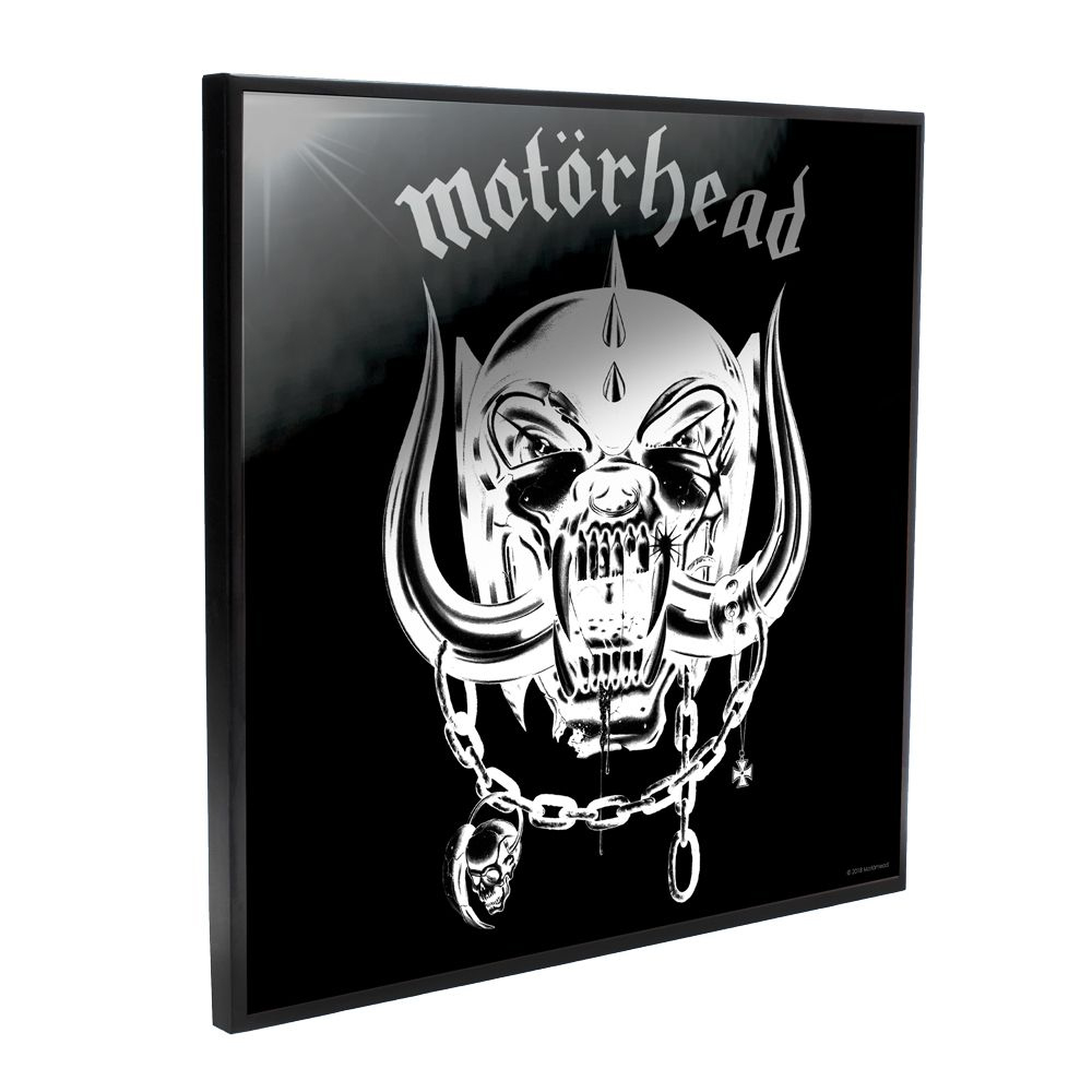 Motorhead - Motorhead Self-Titled Album Cover (Crystal Clear Wall Art)