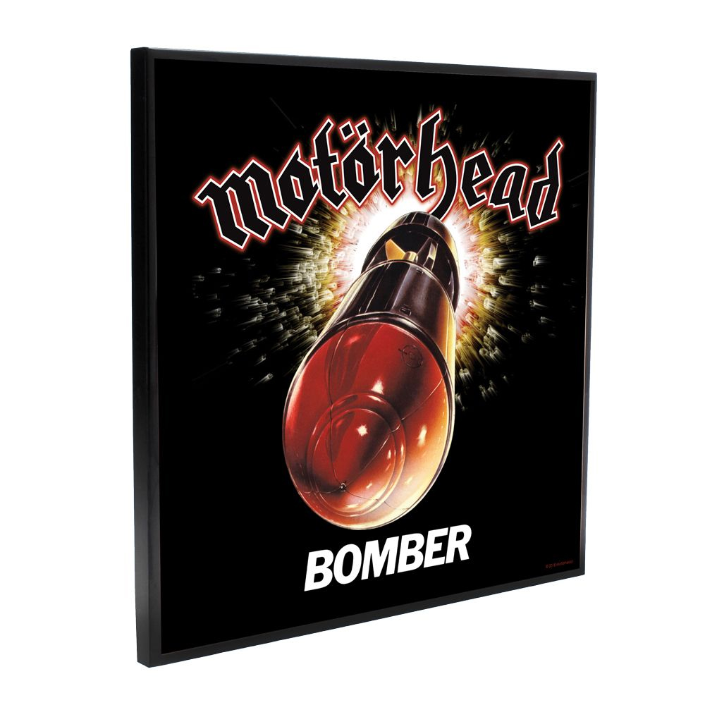 Motorhead - Bomber (Crystal Clear Wall Art)
