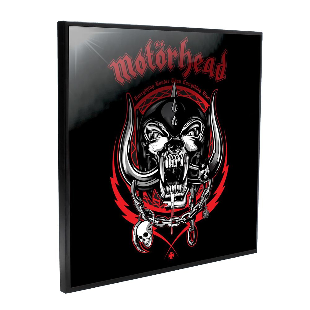 Motorhead - Everything Louder (Crystal Clear Wall Art)