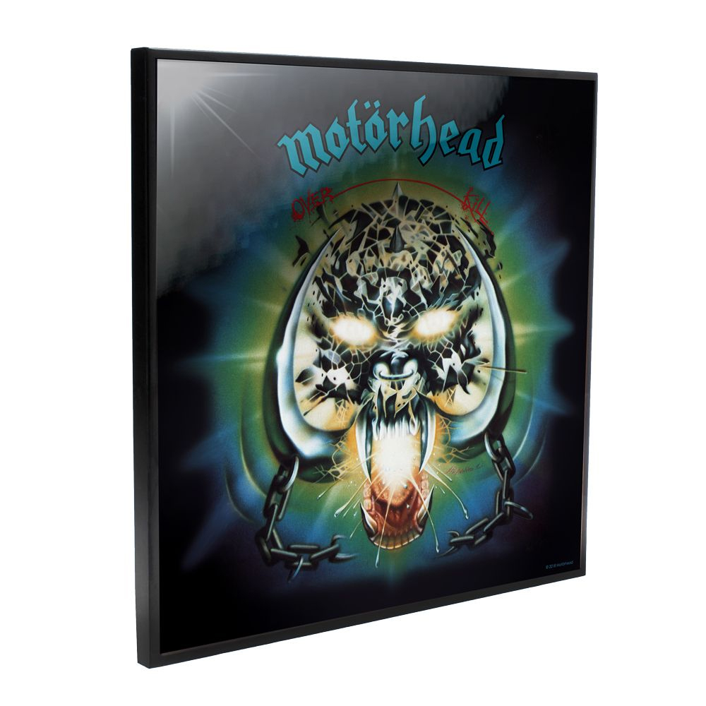 Motorhead - Overkill Album Cover (Crystal Clear Wall Art)