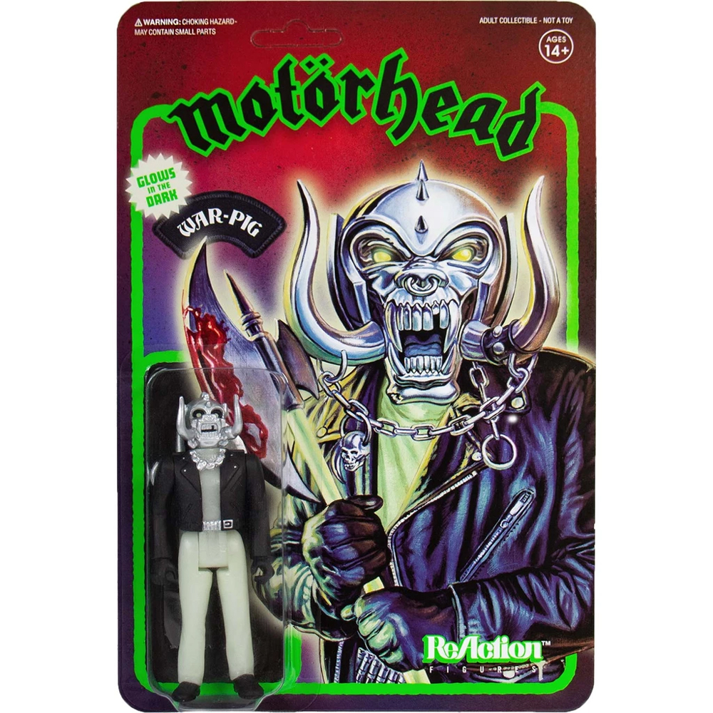 Motorhead - War-Pig (Glow In The Dark ReAction Figure)