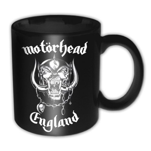 Motorhead - England - Mini (Black)