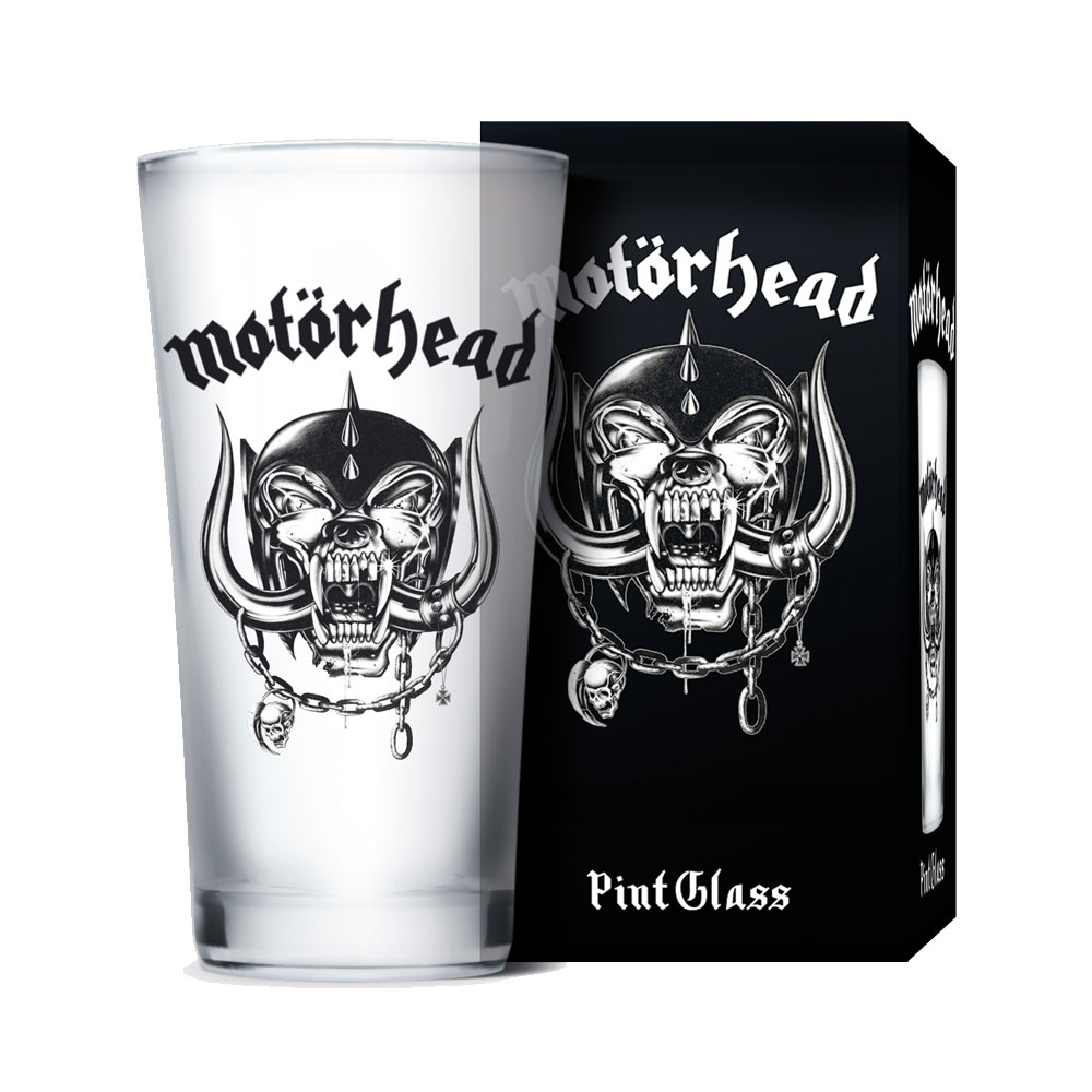 Motorhead - Pint Glass