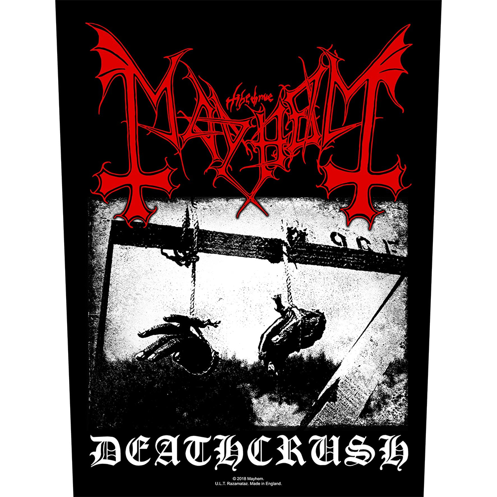 Mayhem - Deathcrush Backpatch